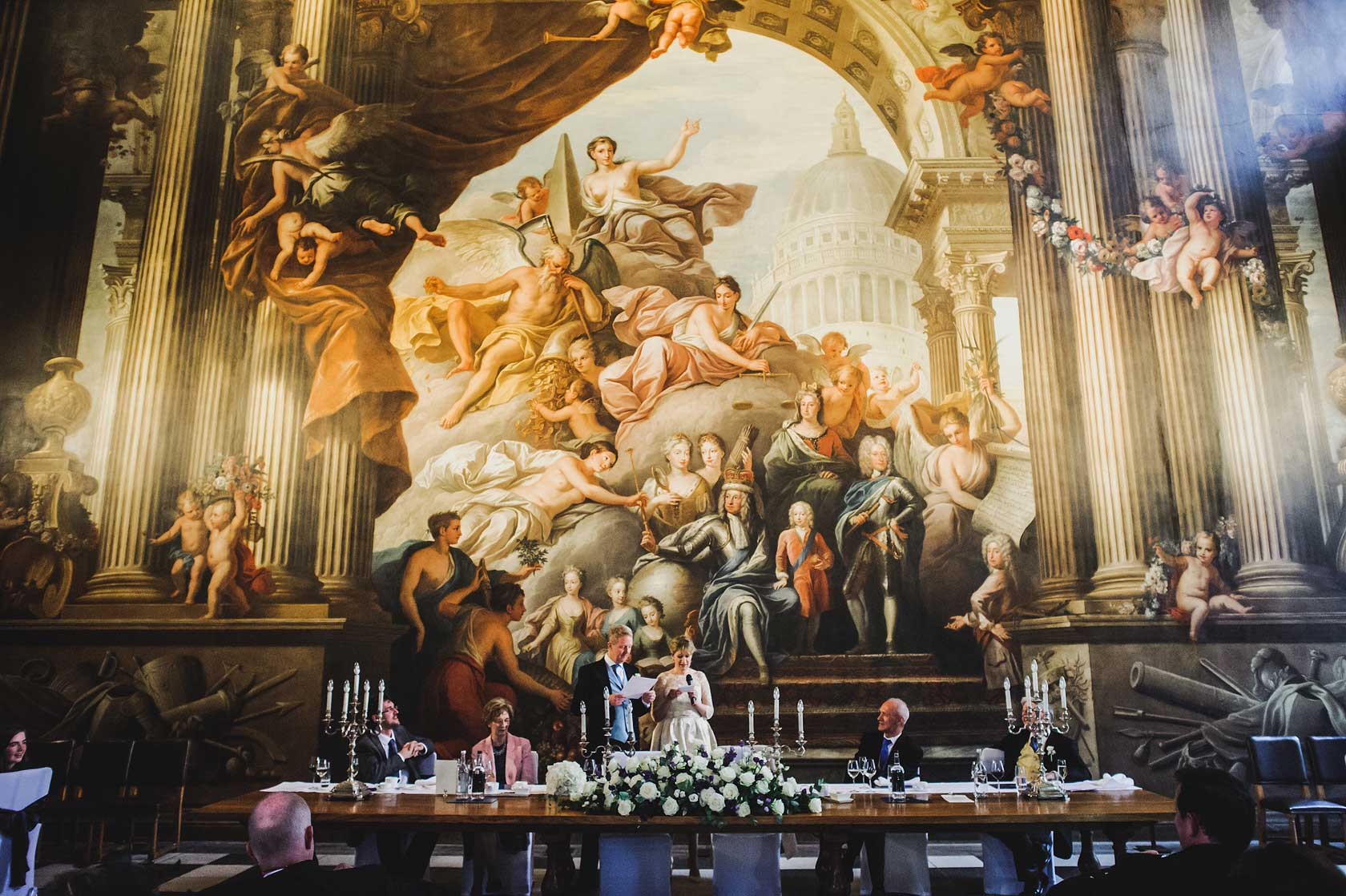 Wedding Photography at Painted Hall