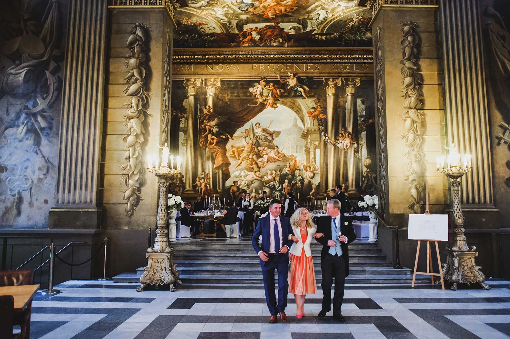 Wedding at Painted Hall