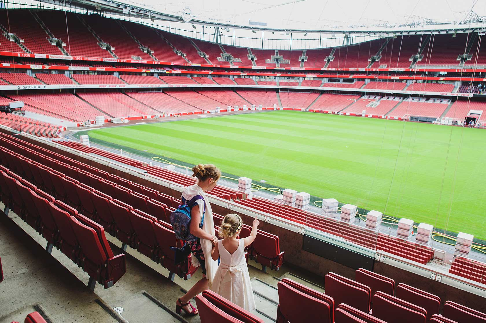 Emirates Stadium Wedding Photography