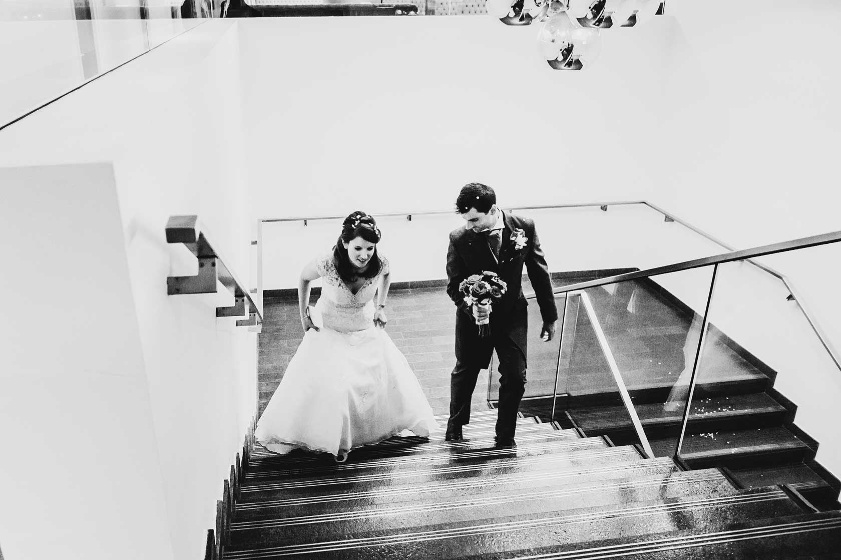 Wedding Photographer at Emirates Stadium