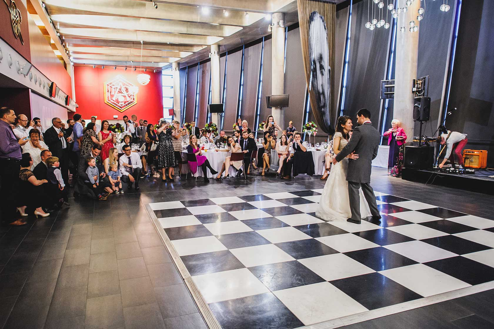 Wedding Photography at Emirates Stadium