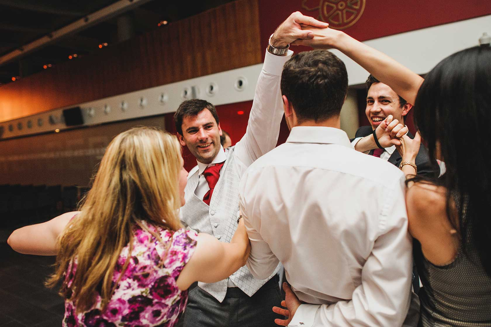 Reportage Wedding Photography at Arsenal Football Club