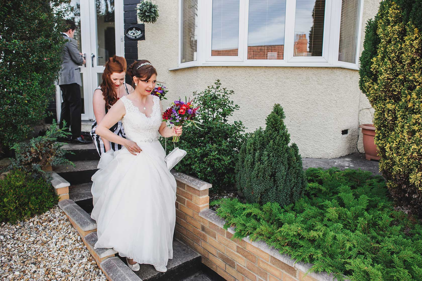 Reportage Wedding Photography at SS Great Britain
