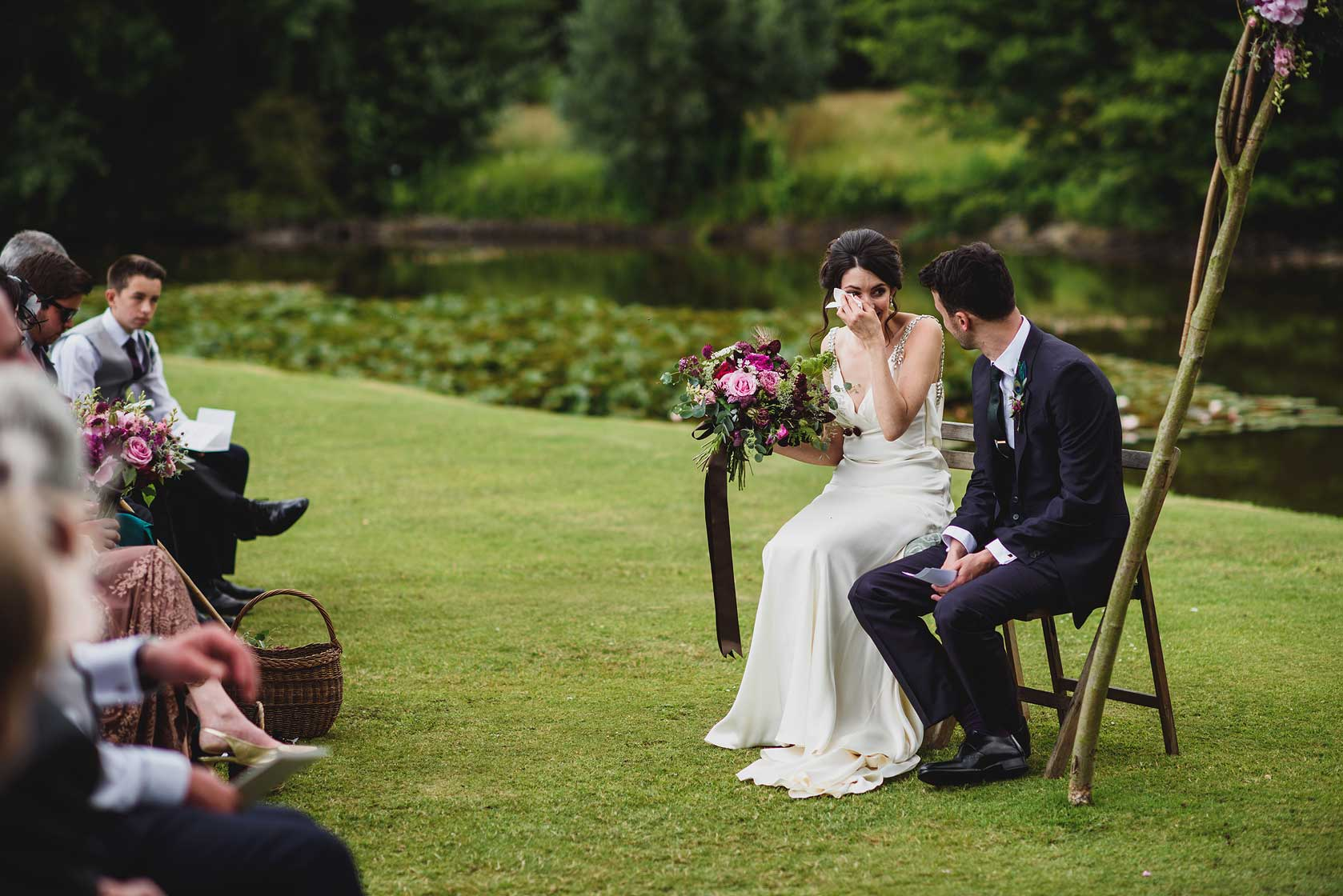 Reportage Wedding Photography at Narborough Hall Gardens