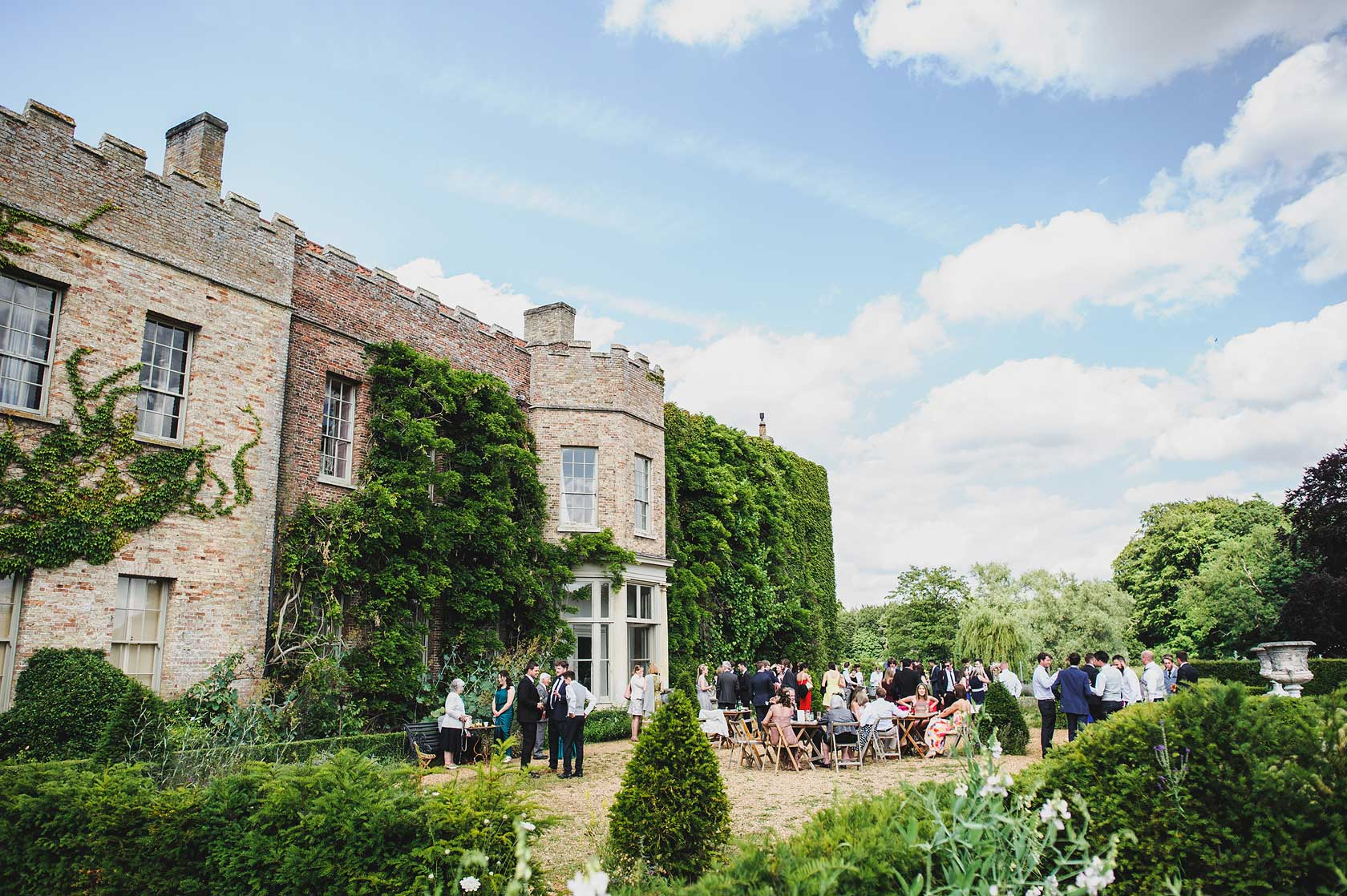 Narborough Hall Gardens Wedding in Norfolk