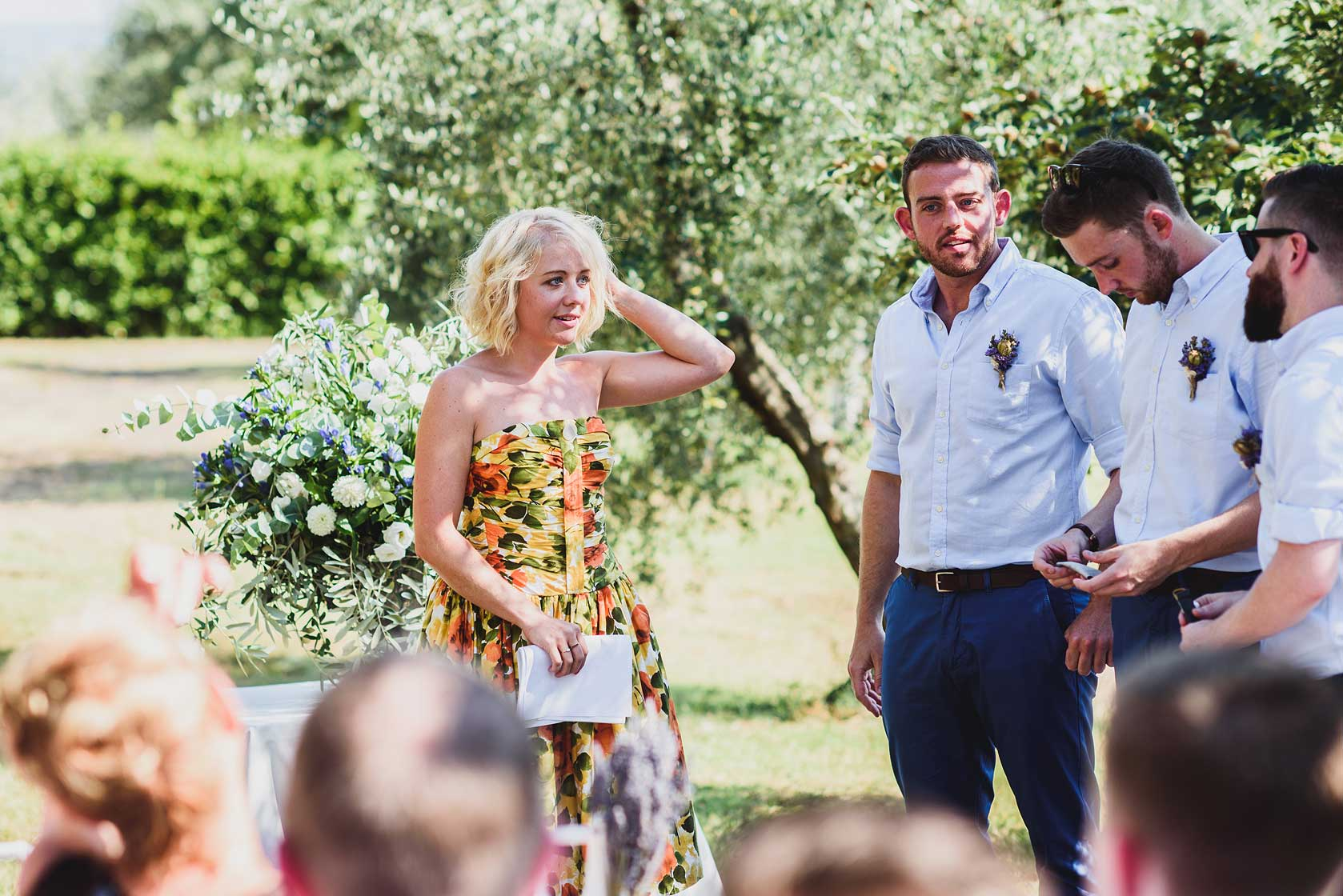 Destination wedding at Borgo Bucciano