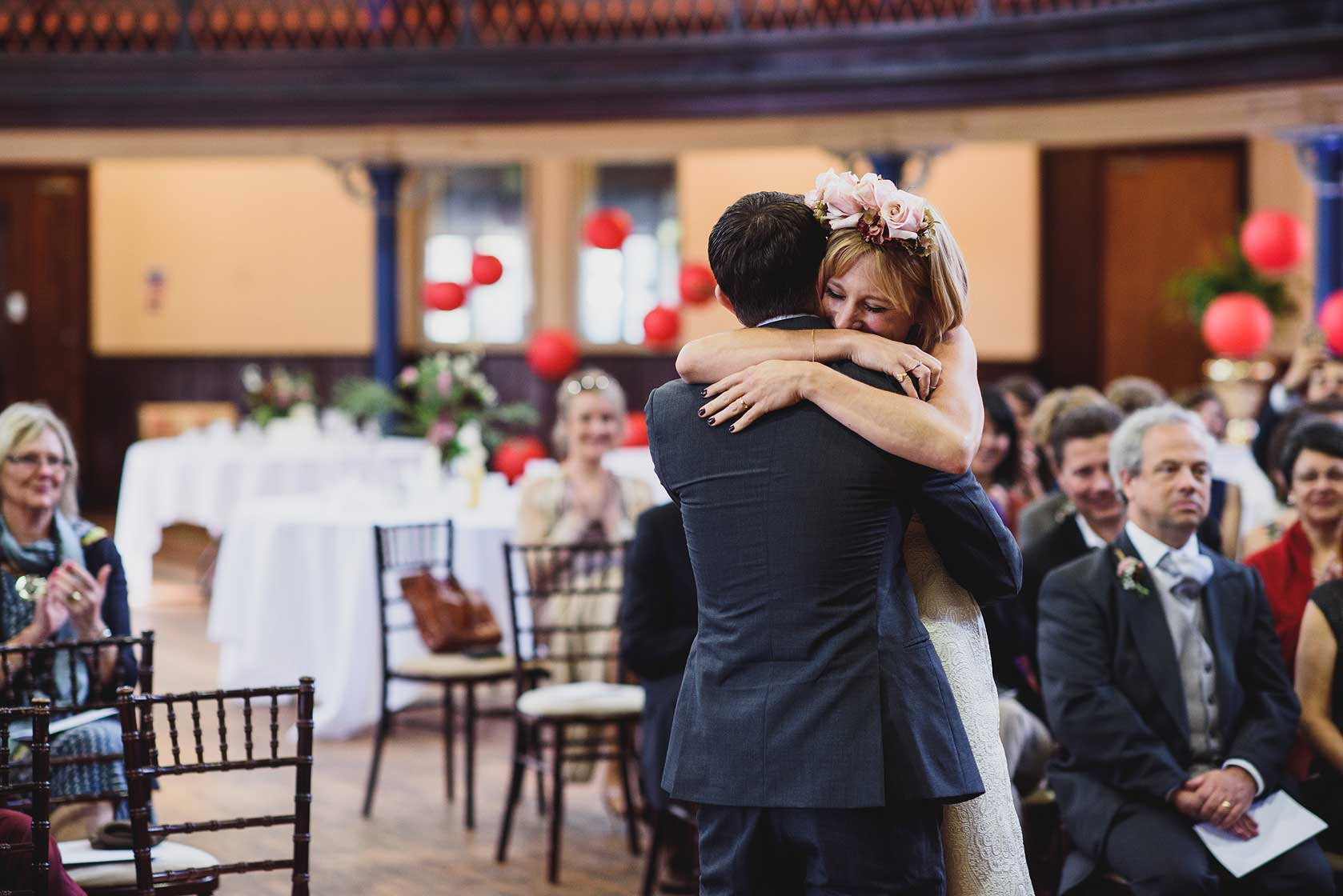 Wedding Photography at Town Hall Hotel