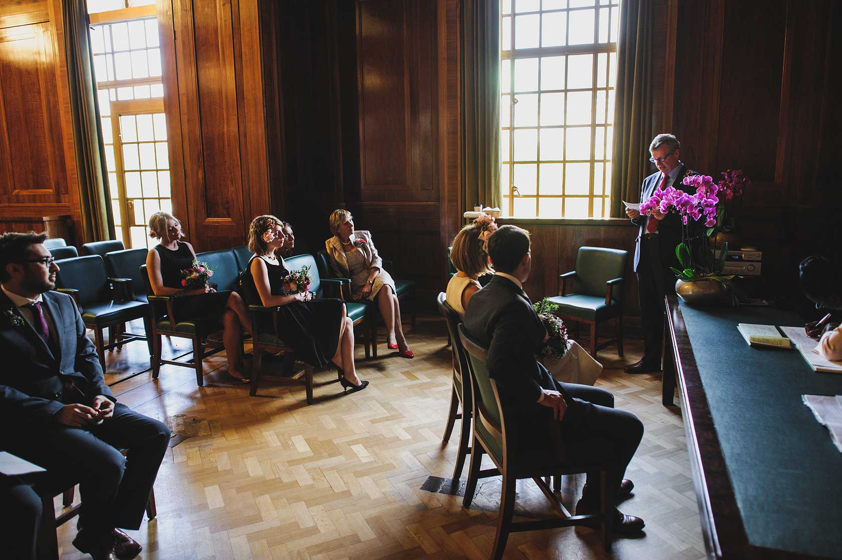 Documentary Wedding Photography at The Round Chapel