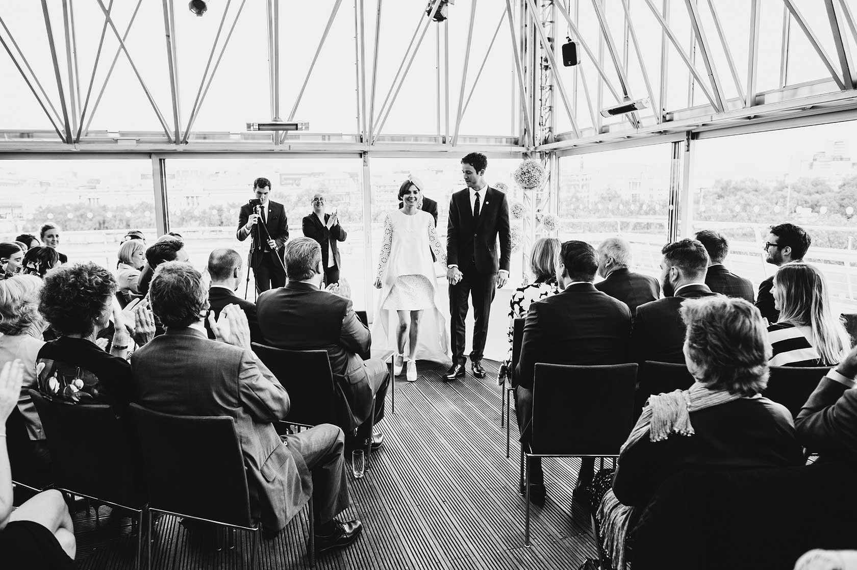 Trinity Buoy Wharf Wedding Photographer