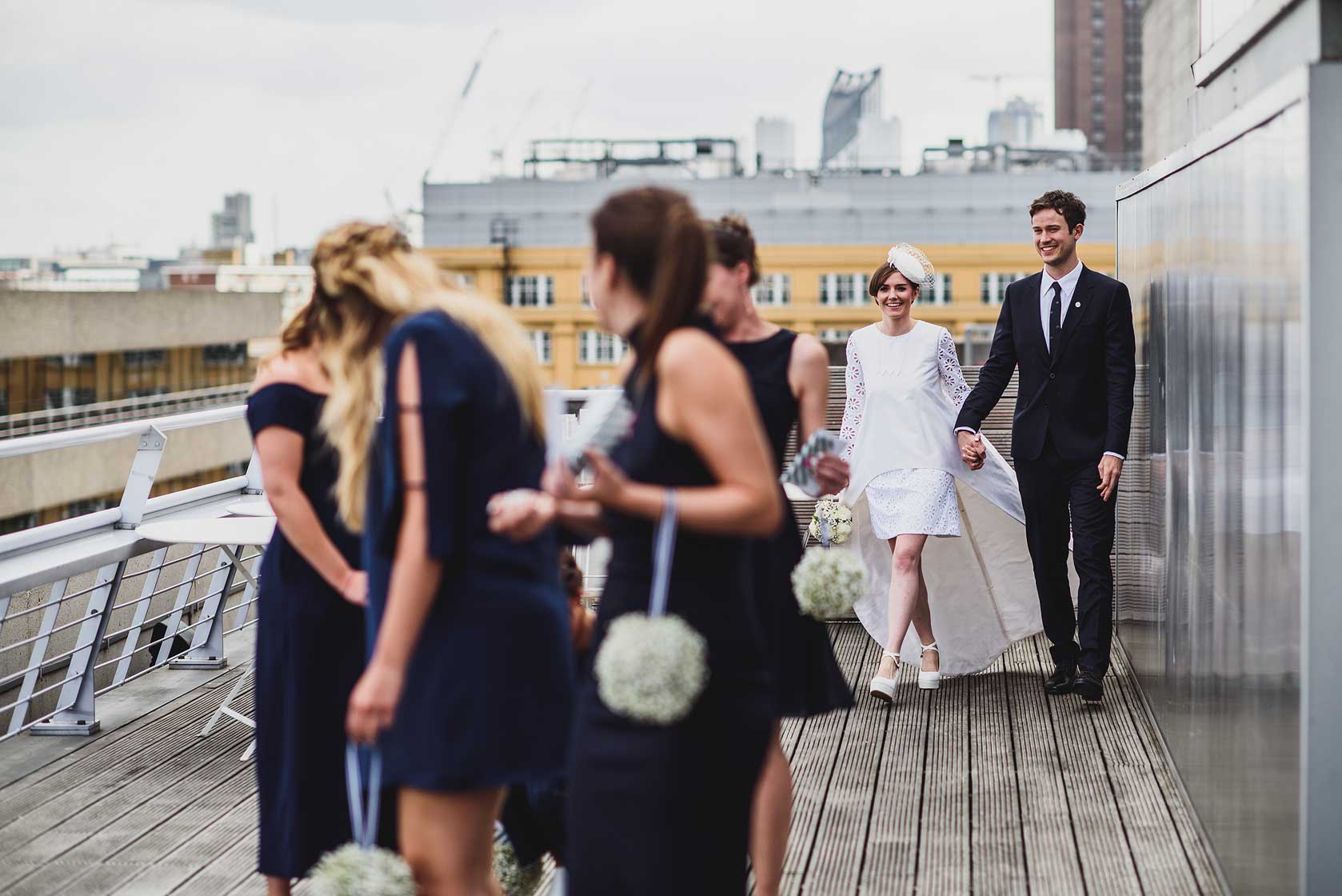 Wedding Photographer at National Theatre