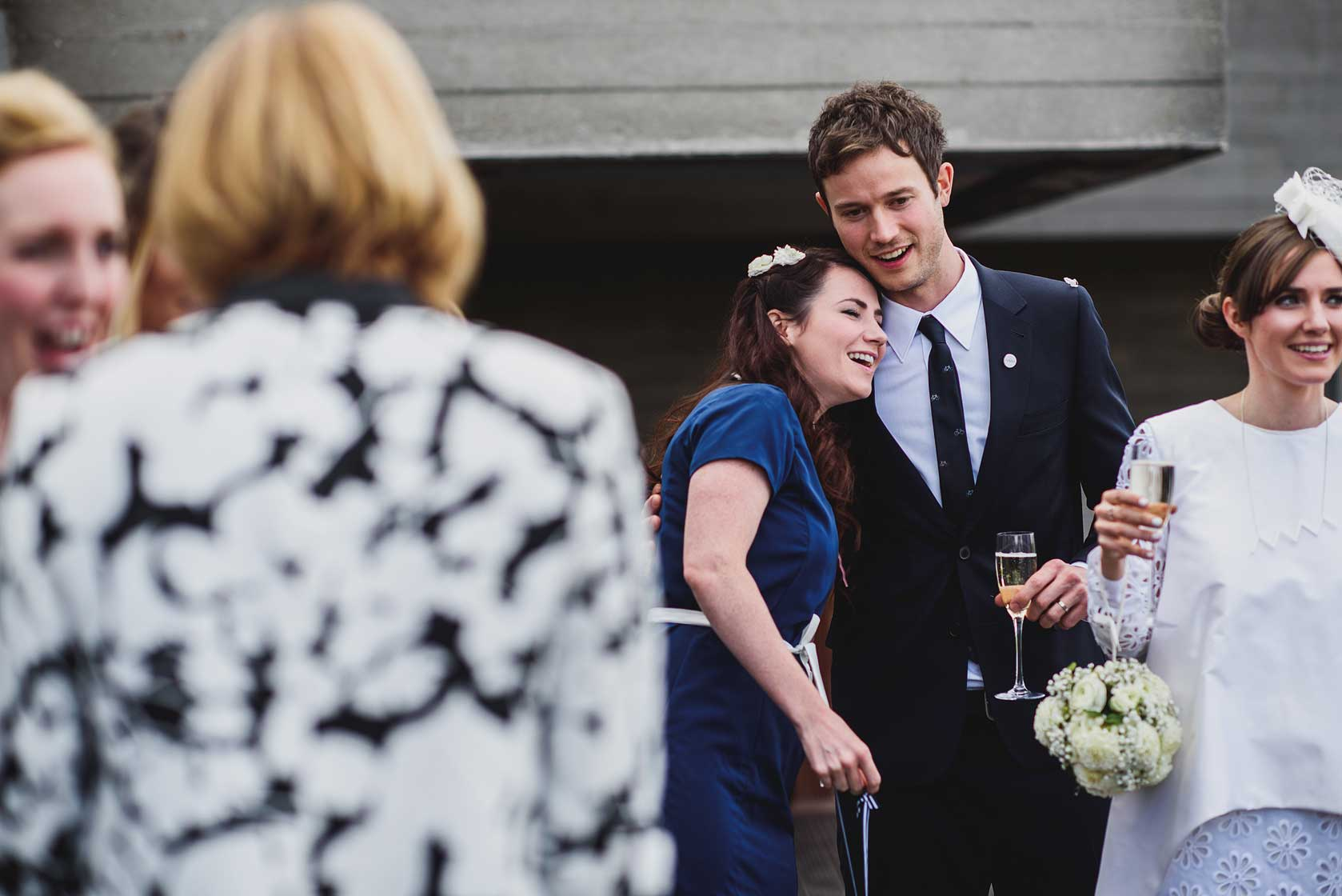 Wedding Photography at National Theatre