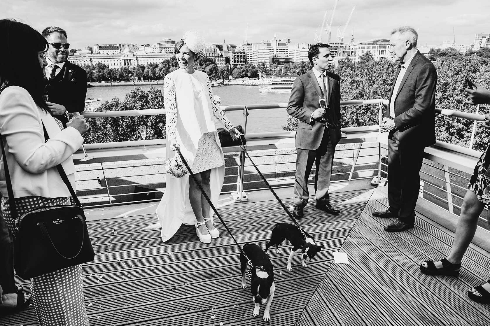 Reportage Wedding Photography at National Theatre