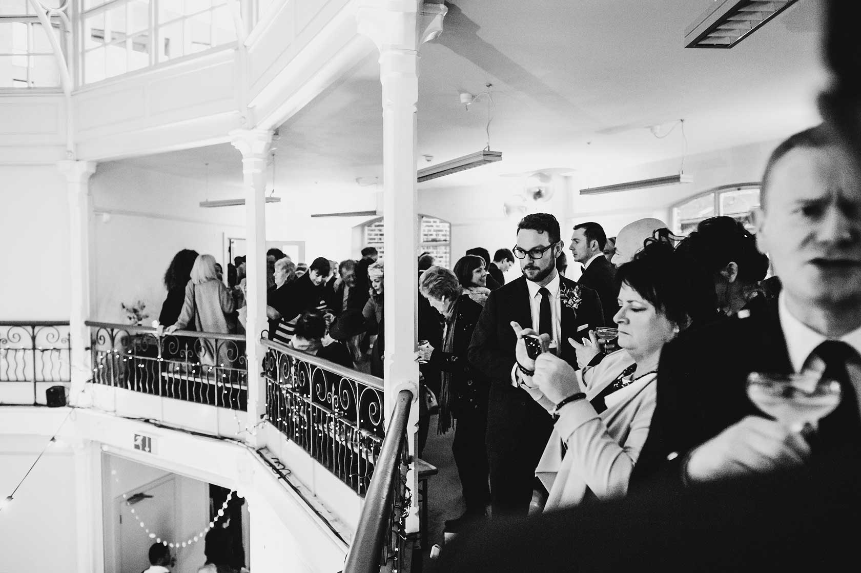 Wedding Photographer at The Tab Centre
