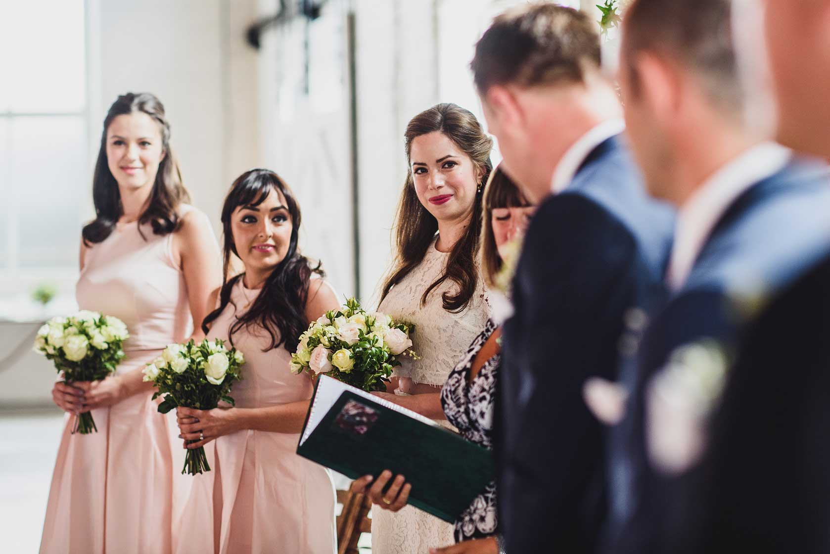 Reportage Wedding Photography at Trinity Buoy Wharf