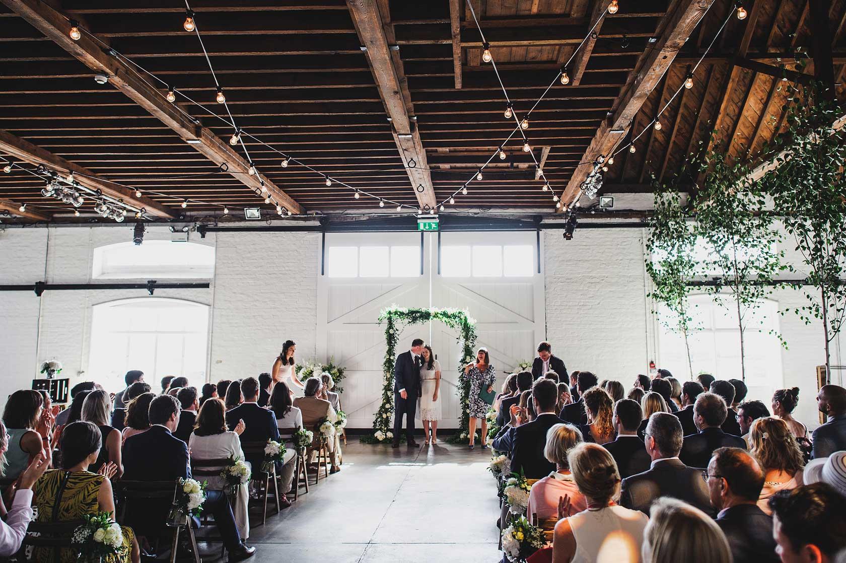 Reportage Wedding Photography at Trinity Buoy Wharf
