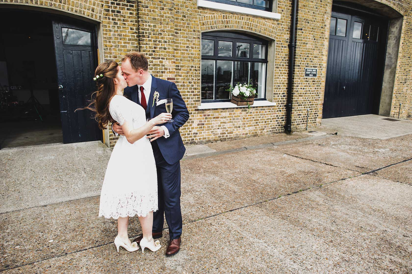Wedding Photojournalism at Trinity Buoy Wharf