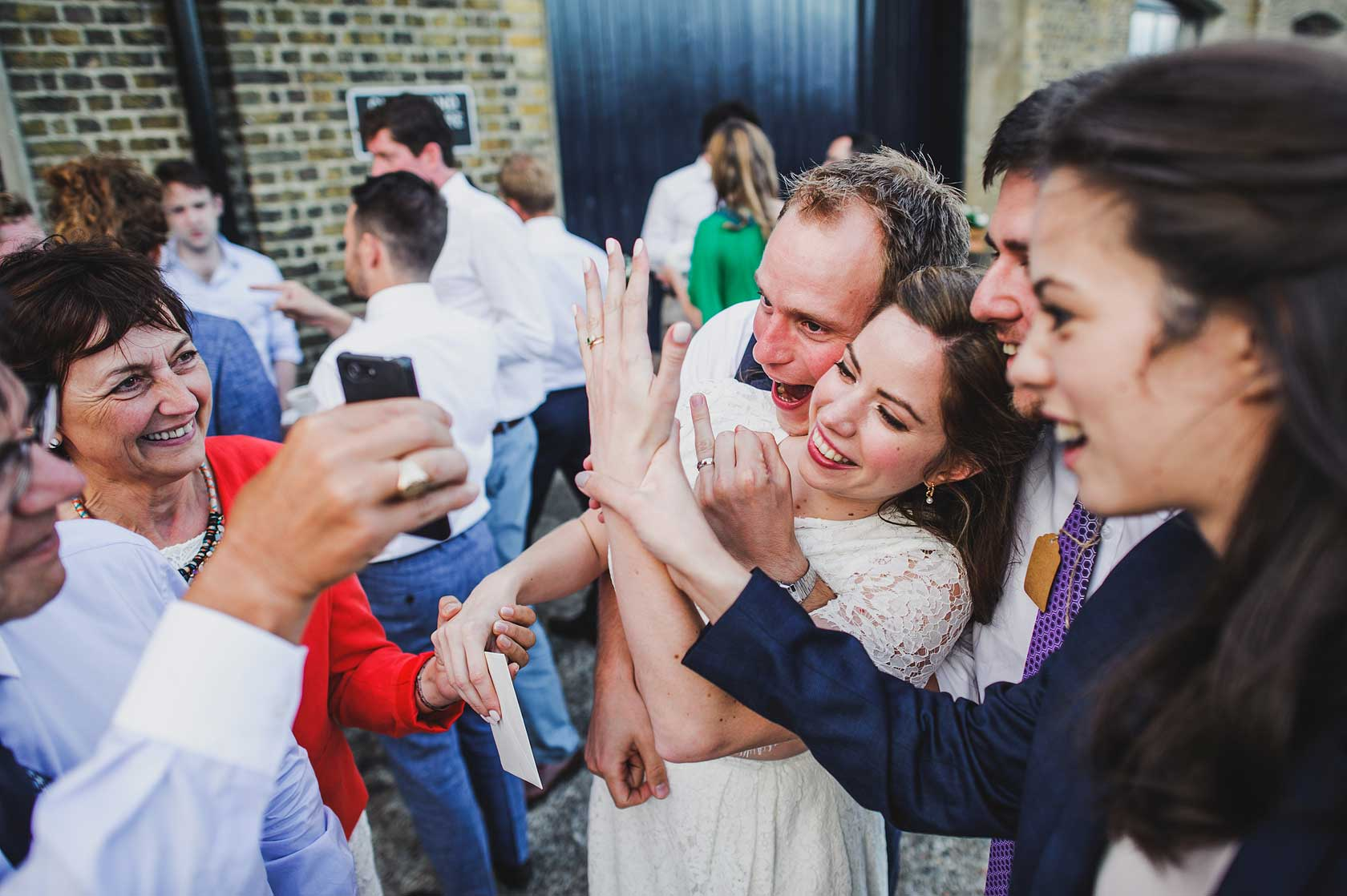 Wedding Photographer at Trinity Buoy Wharf