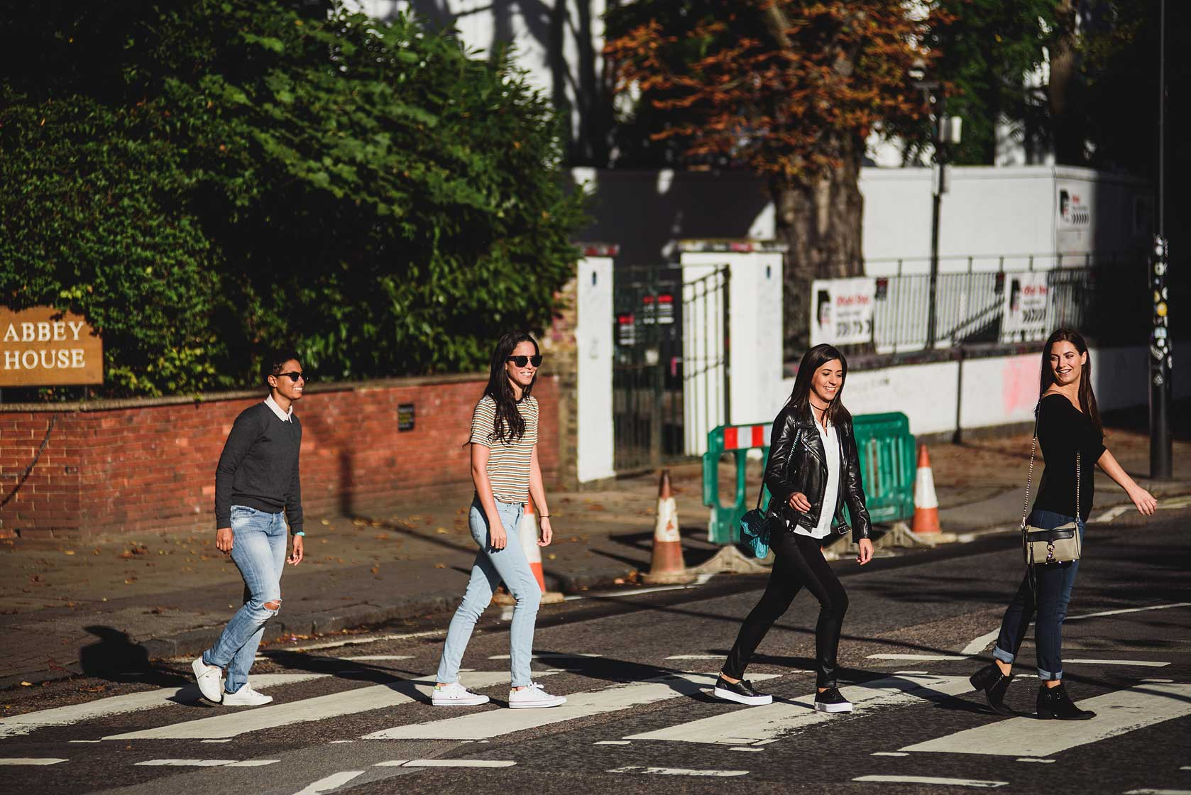 Abbey Road Proposal Photography