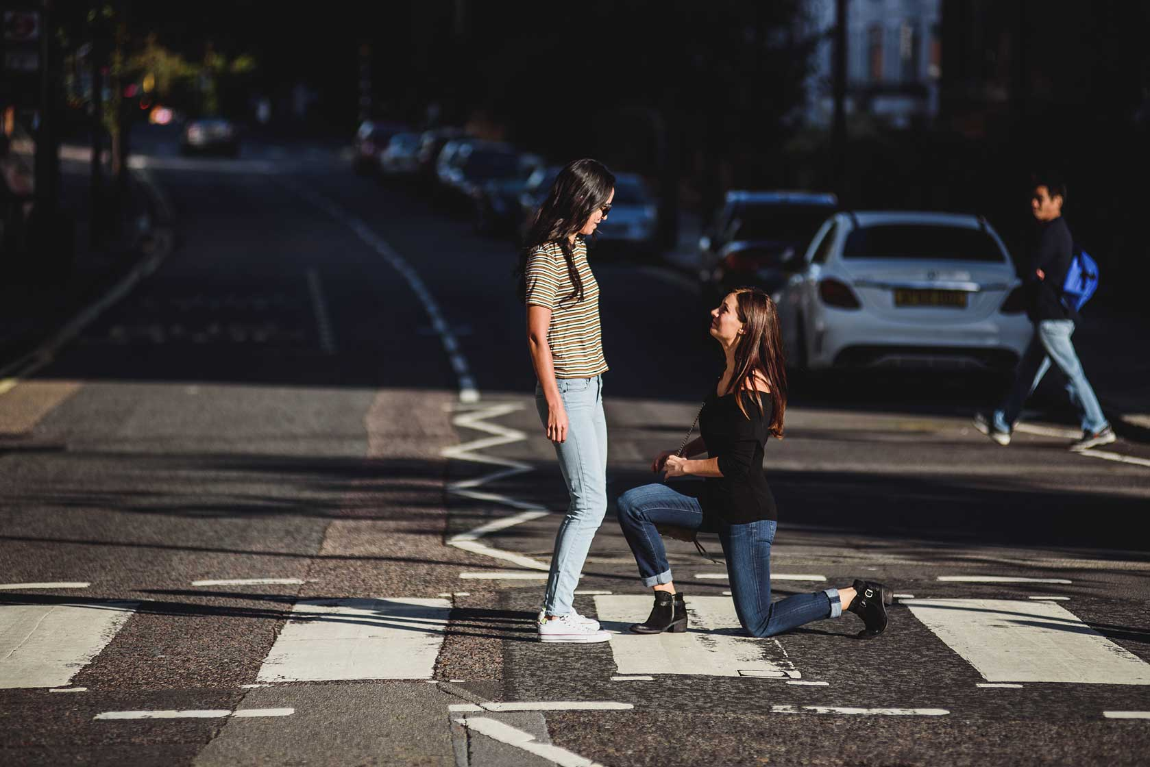 Reportage Proposal Photography on Abbey Road Crossing