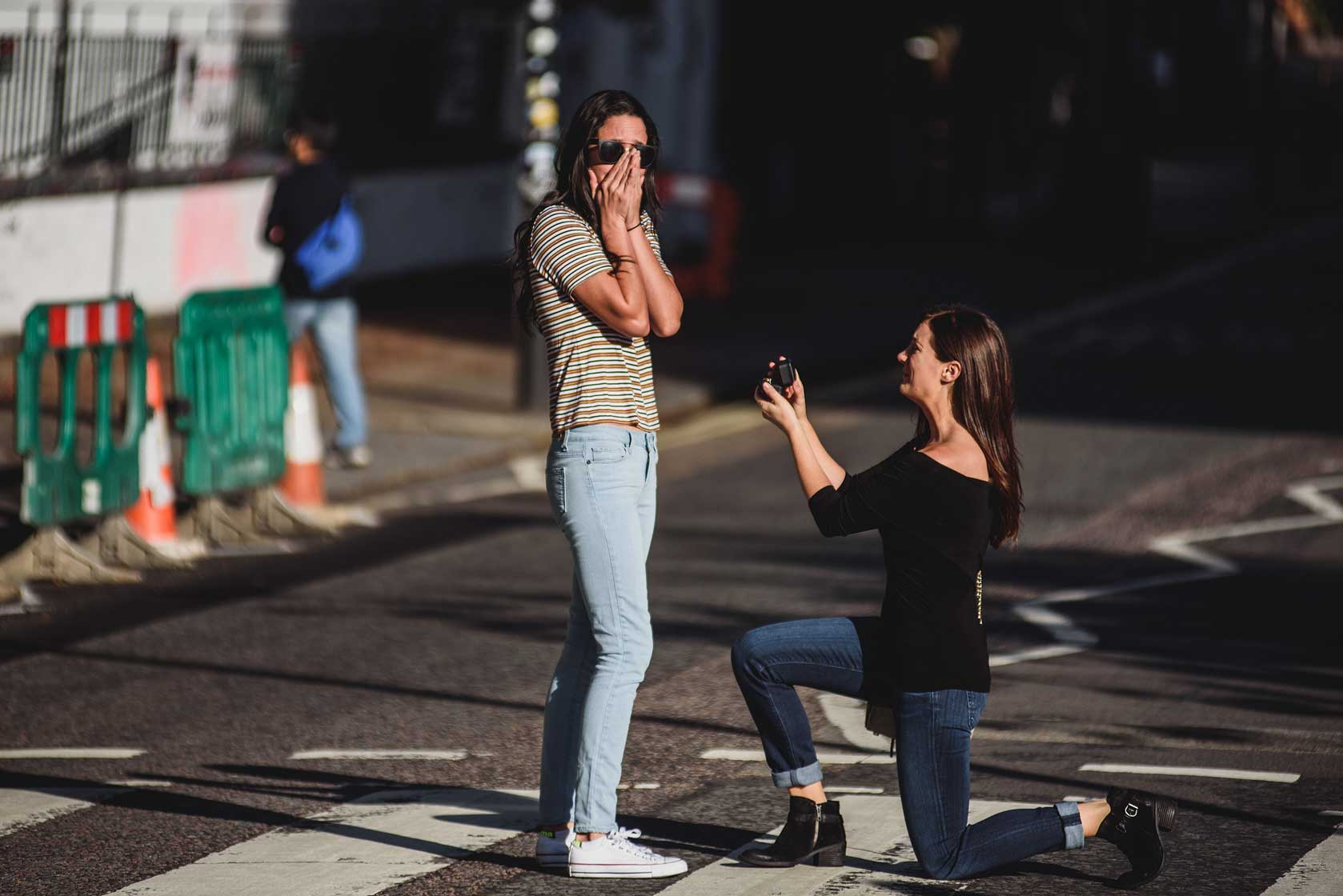 Proposal in London