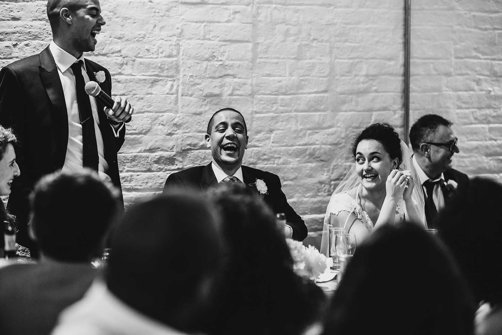 Reportage Wedding Photography at Brixton East