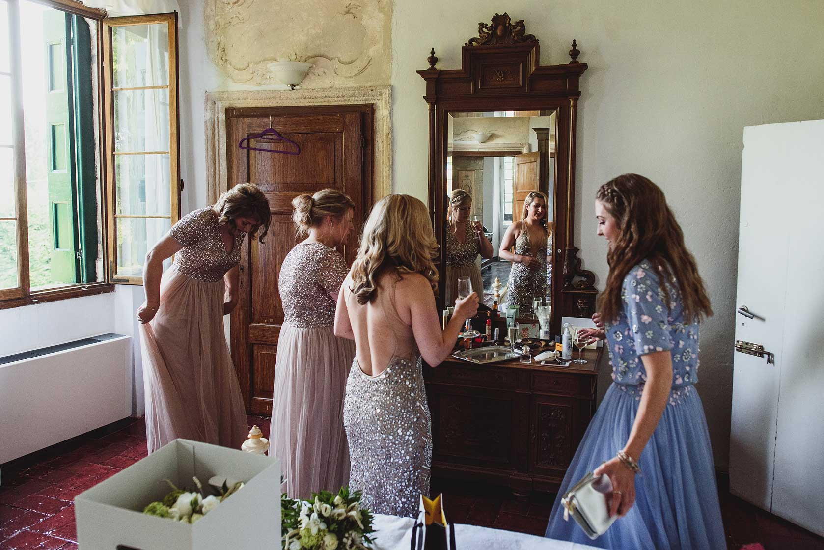 Reportage Wedding Photography at Villa La Zambonina