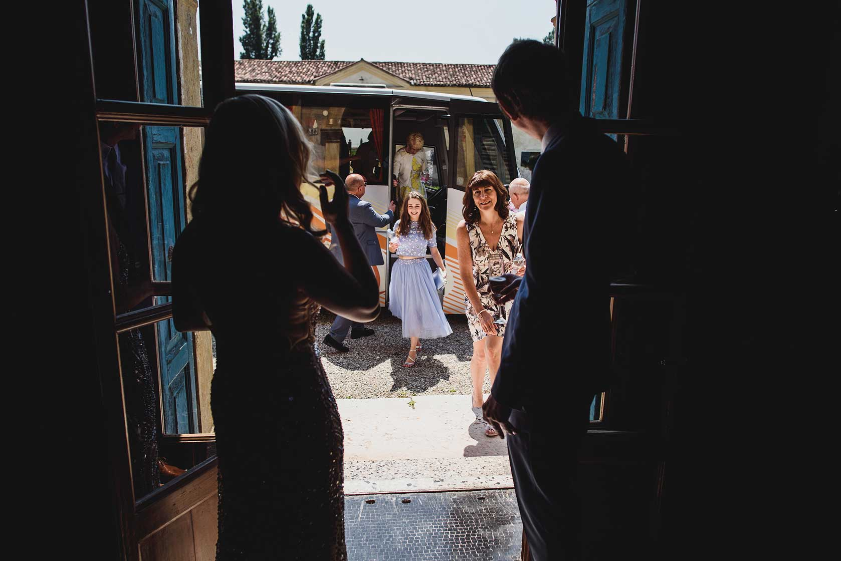 Wedding Photographer at Villa La Zambonina
