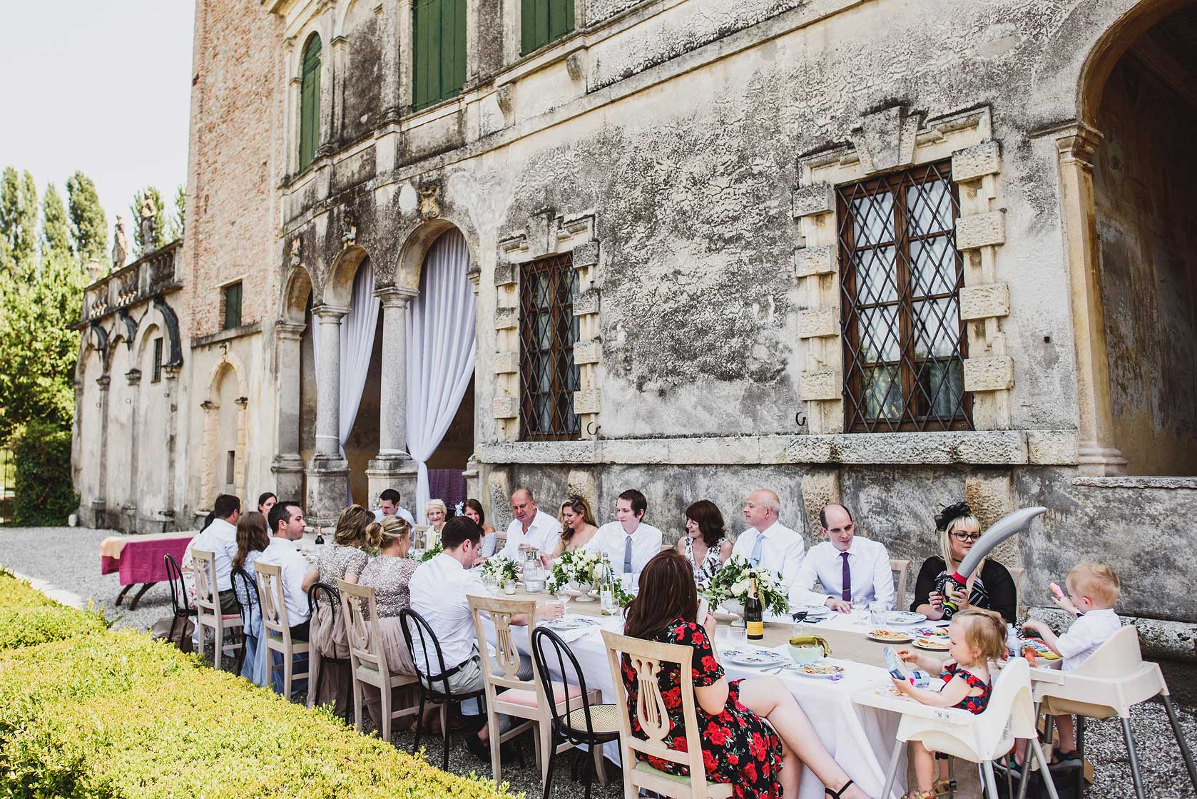 Wedding Photojournalism at Villa La Zambonina