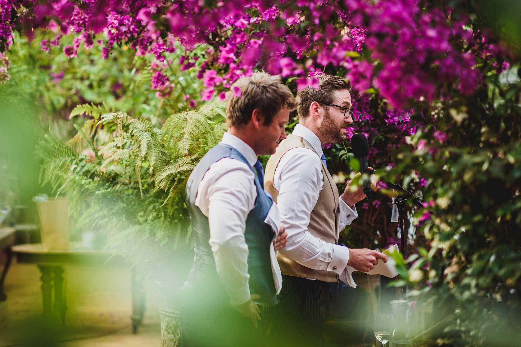 Wedding Photographer at Petersham Nurseries