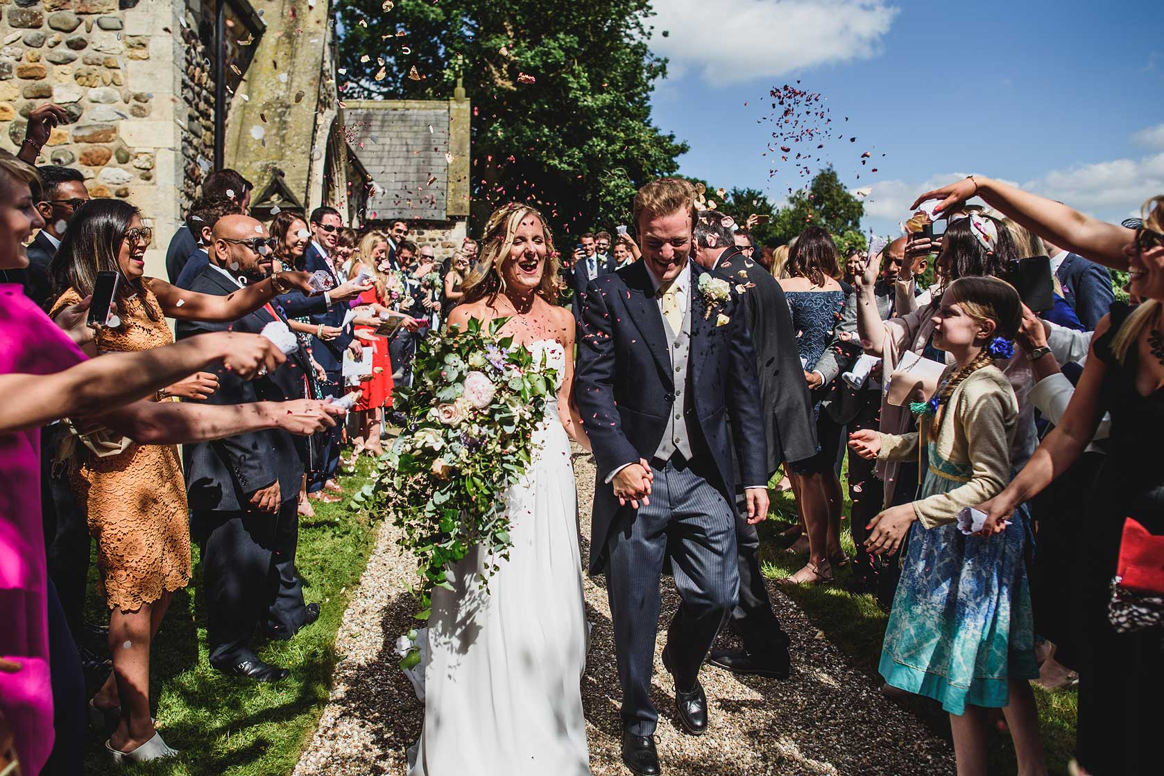 Family Home Wedding Photography