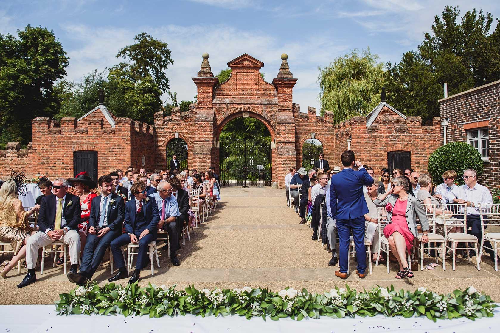 Forty Hall Wedding Photography