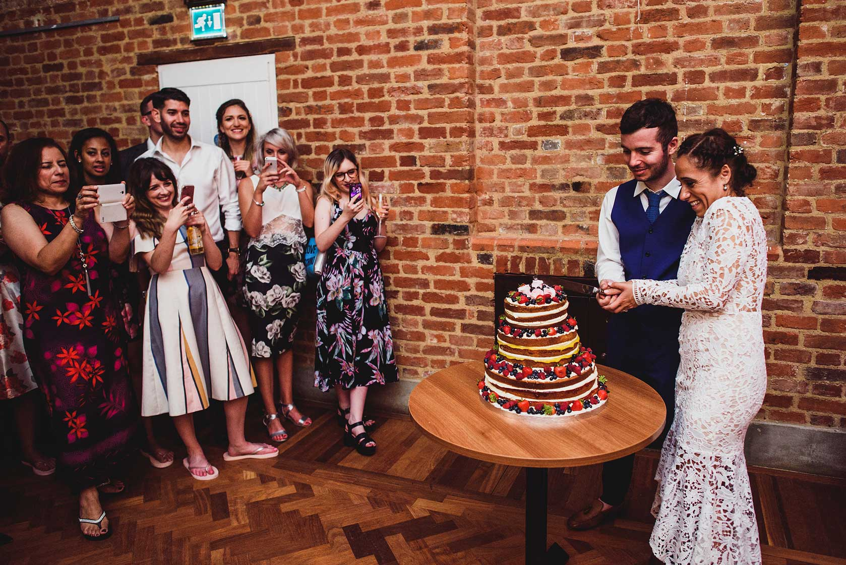 Reportage Wedding Photography at Forty Hall