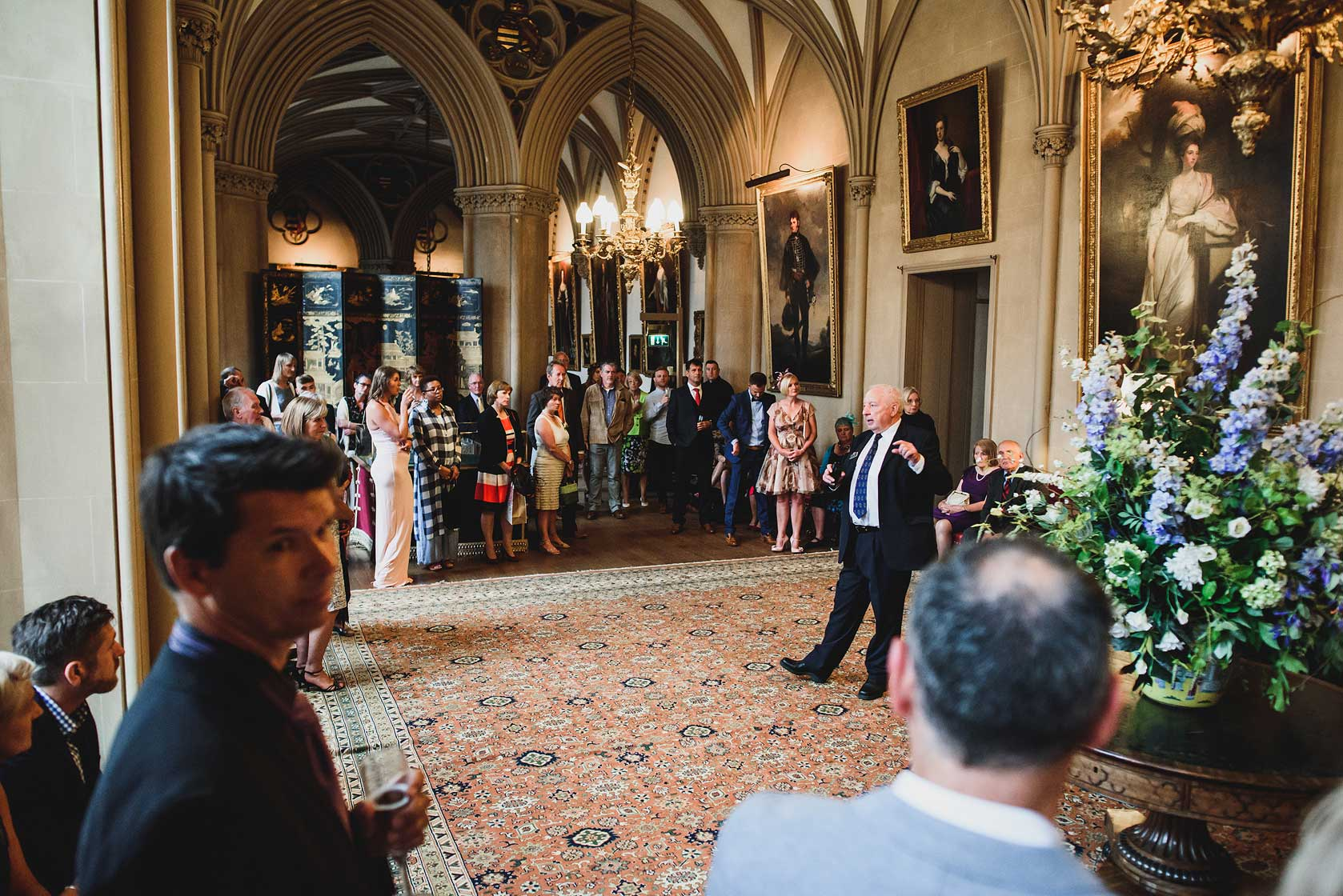 Belvoir Castle Wedding in Leicestershire