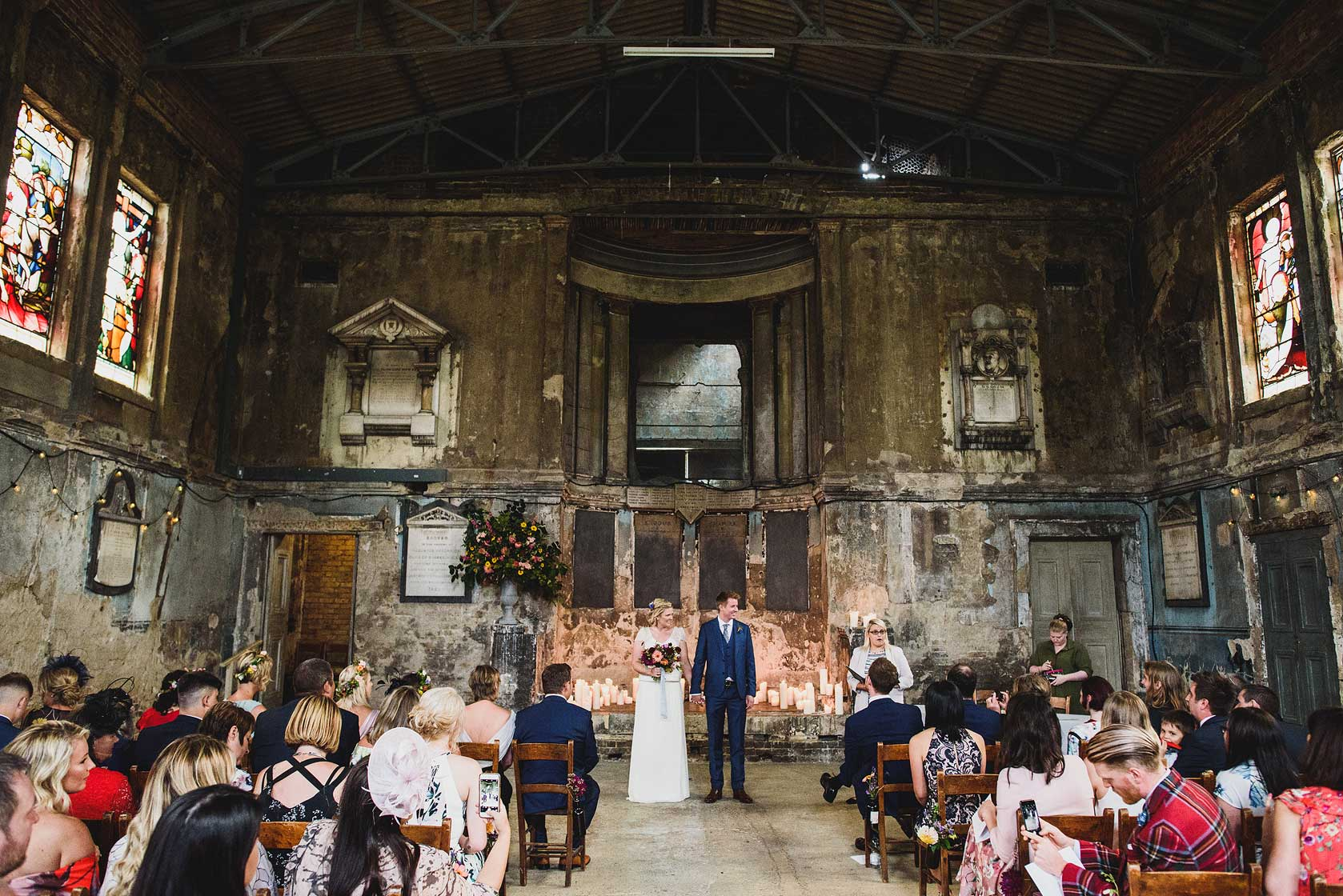 Tanner Warehouse Wedding in London