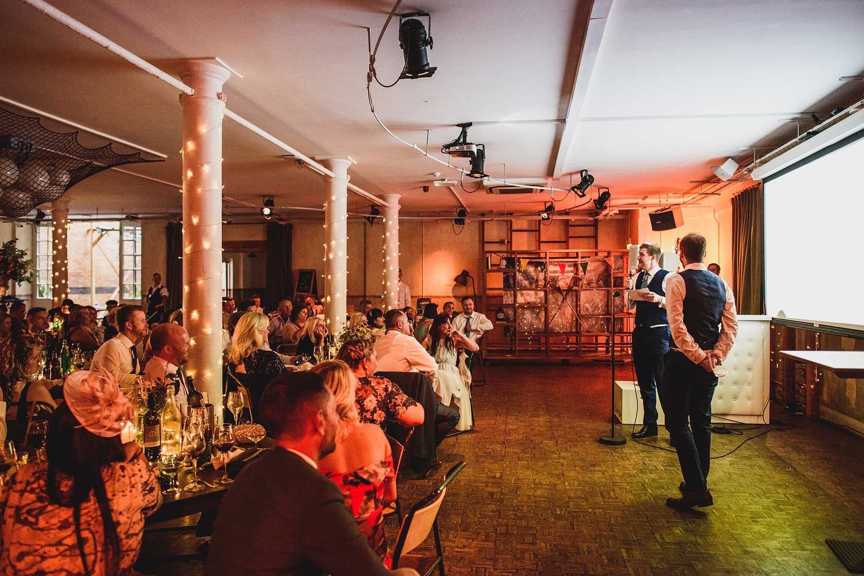 Reportage Wedding Photography at Tanner Warehouse