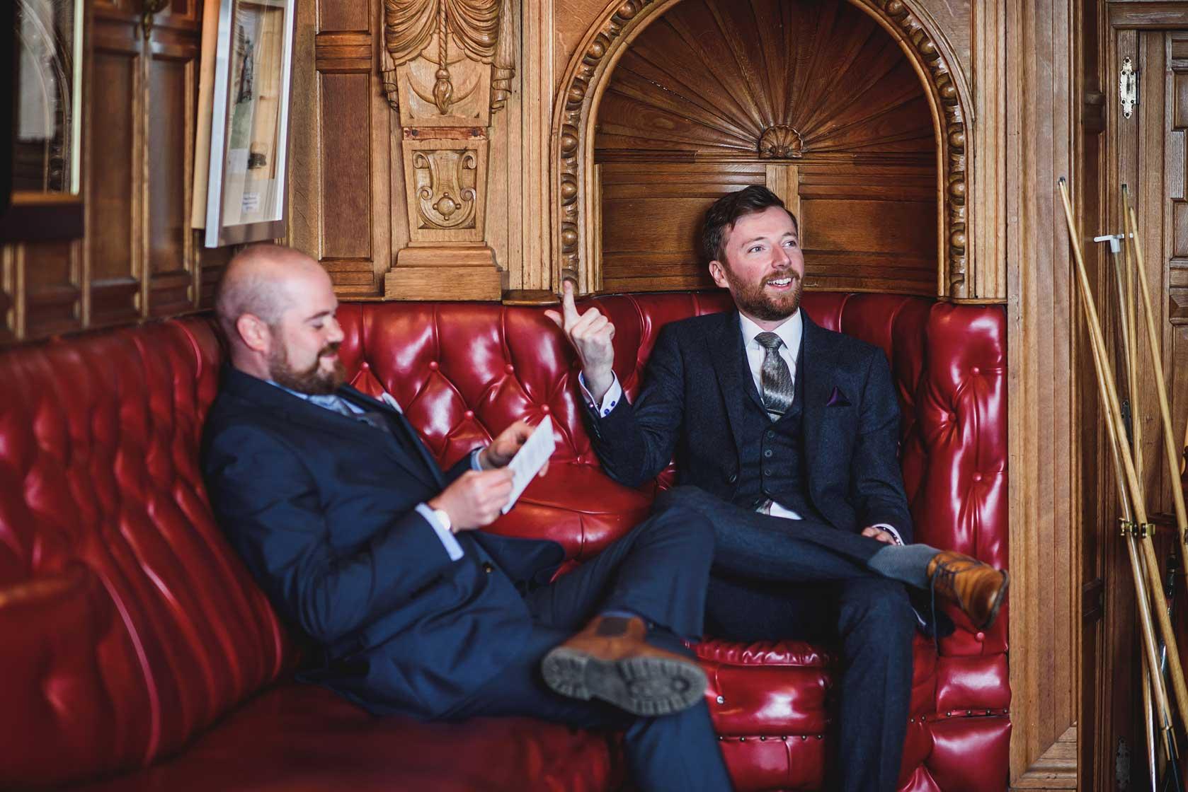 Wedding Photographer at Thornbridge Hall