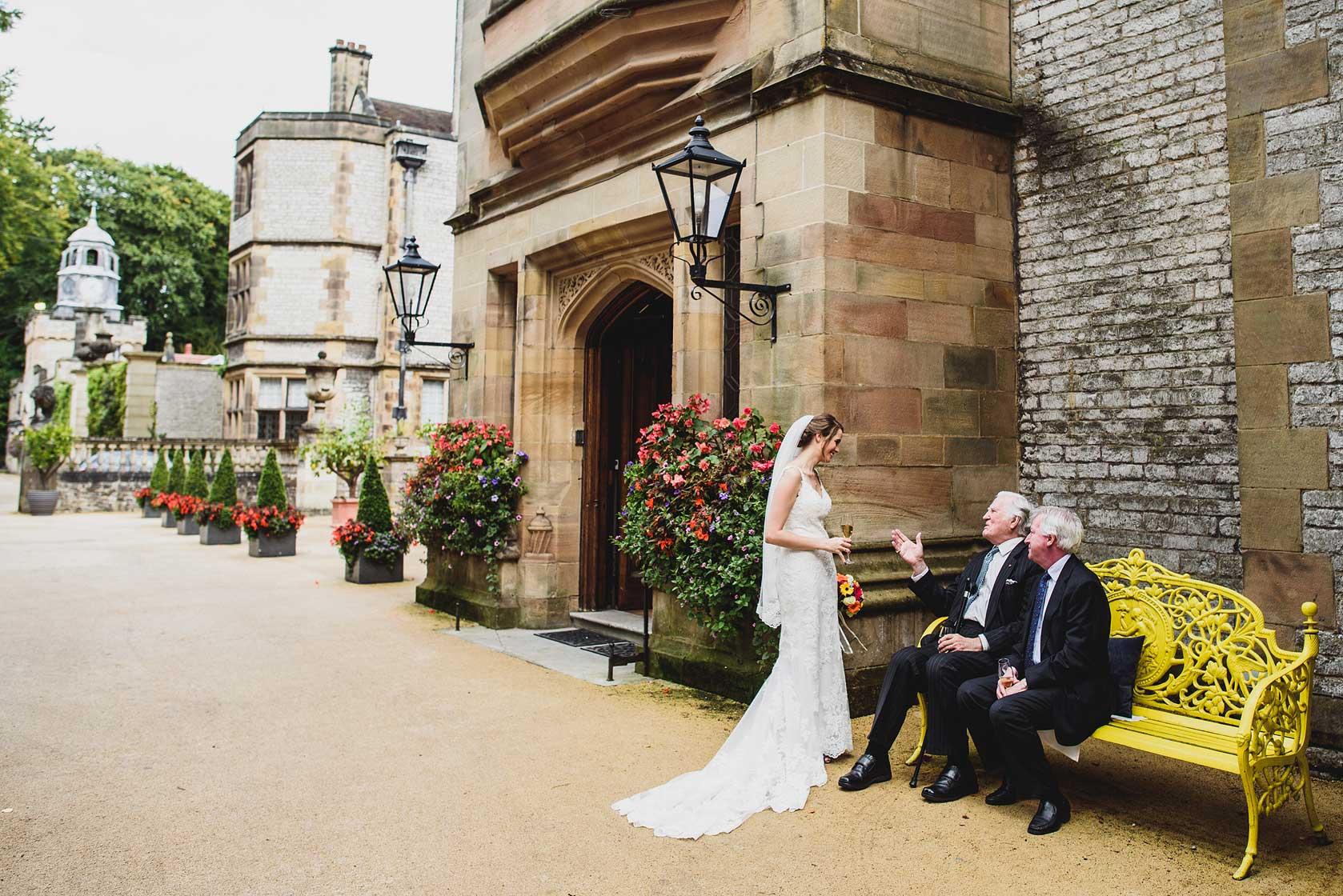 Wedding Photography at Thornbridge Hall