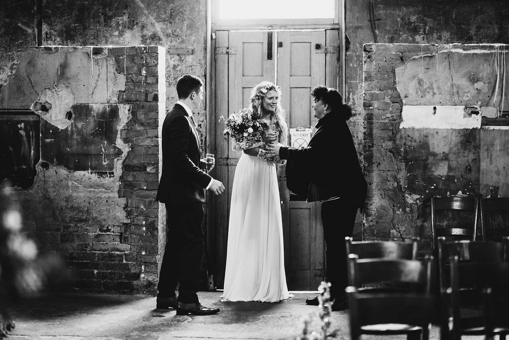 Reportage Wedding Photography at Asylum Chapel