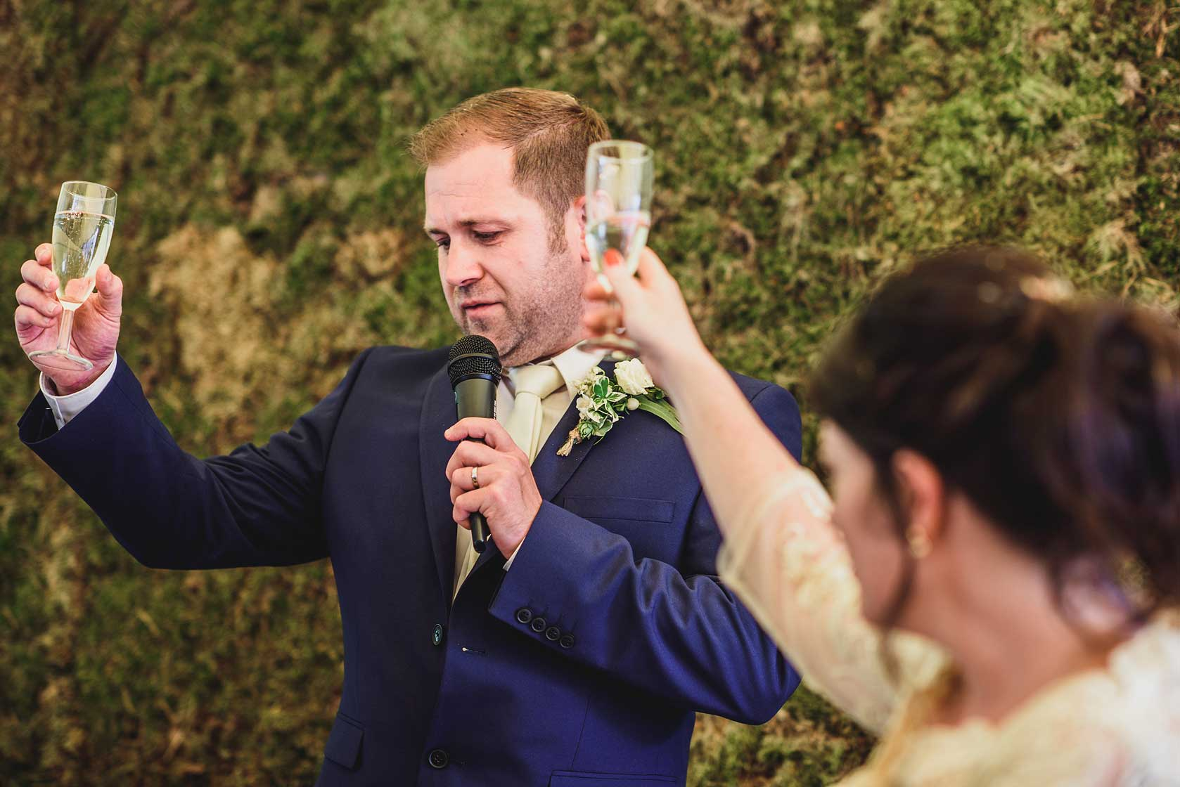 Wedding Photography at The Dreys