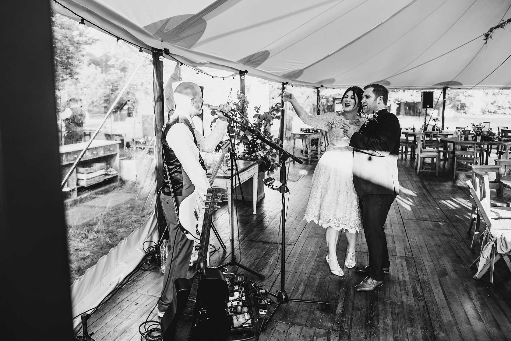 Wedding Photojournalism at The Dreys