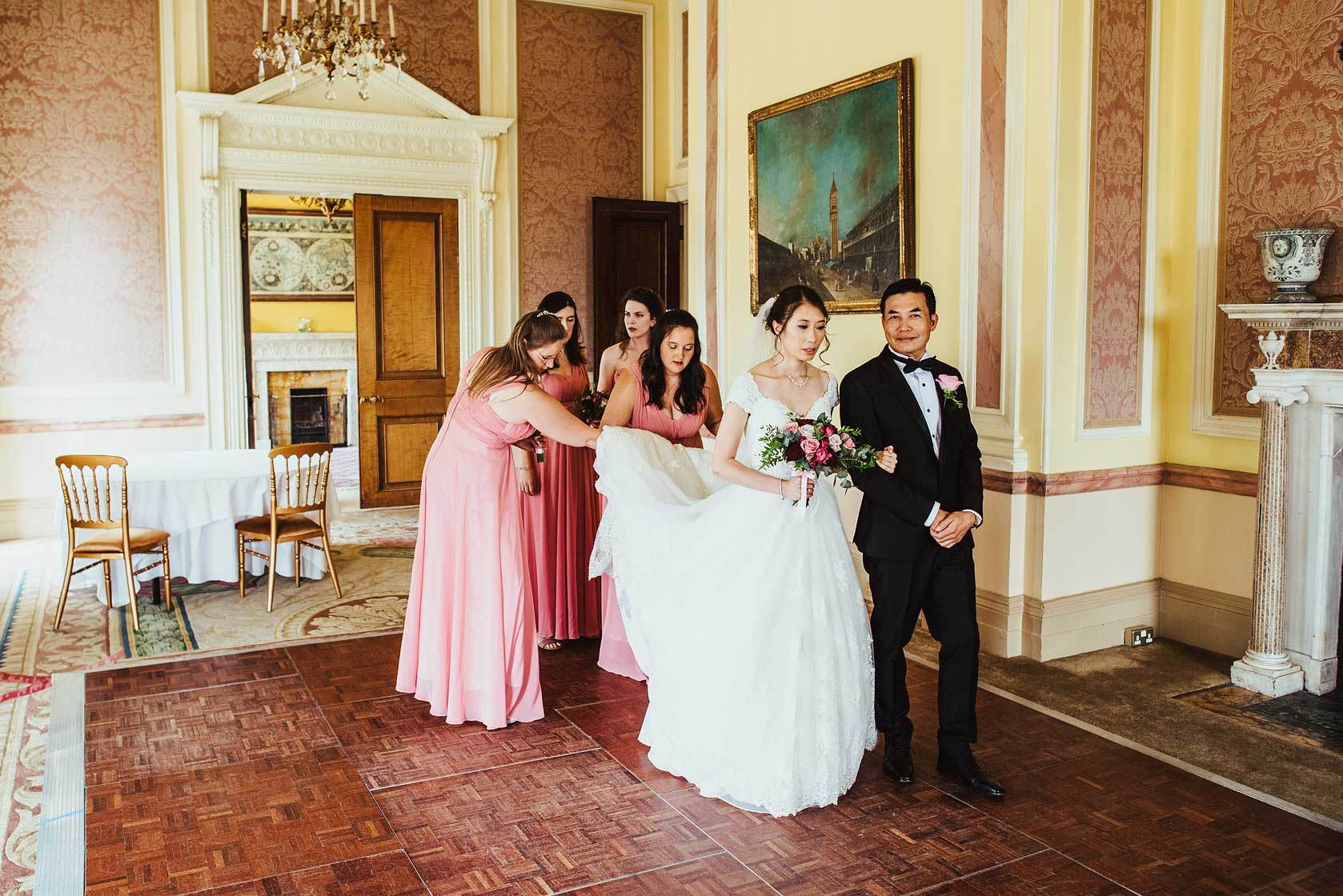 Wedding Photographer at Stoke Park