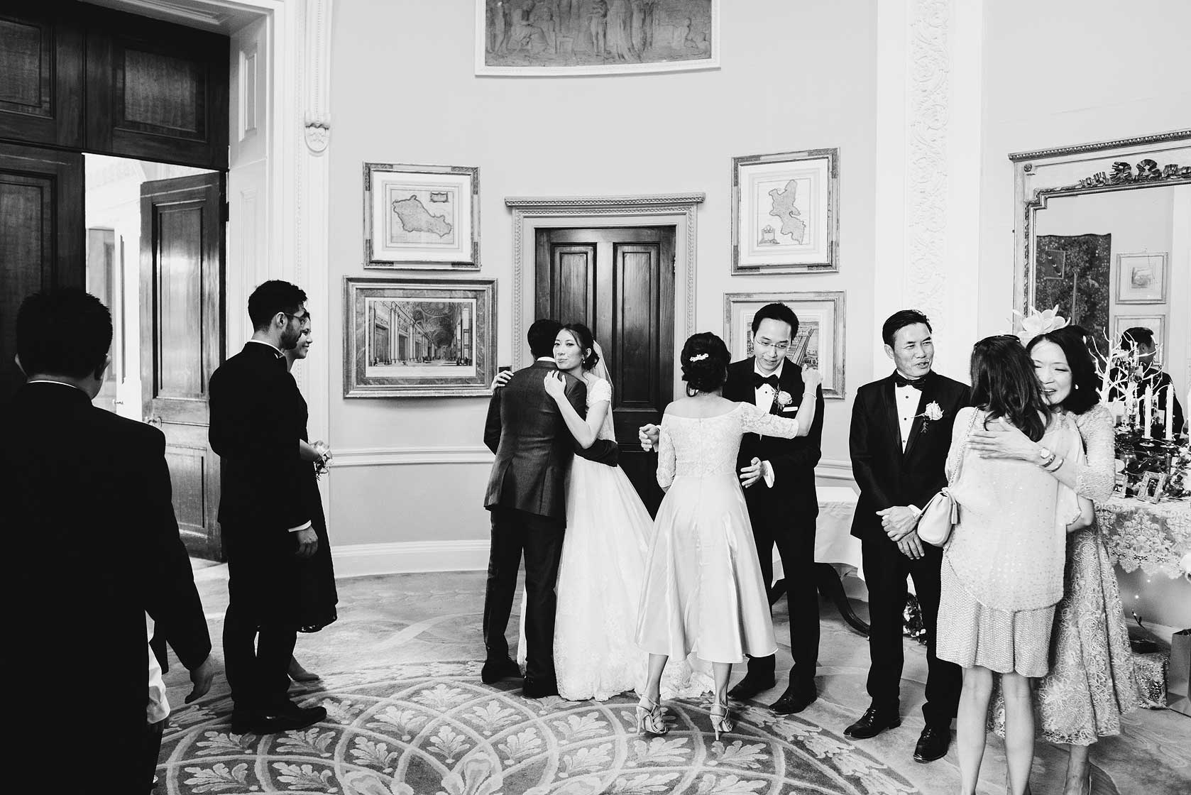 Reportage Wedding Photography at Stoke Park