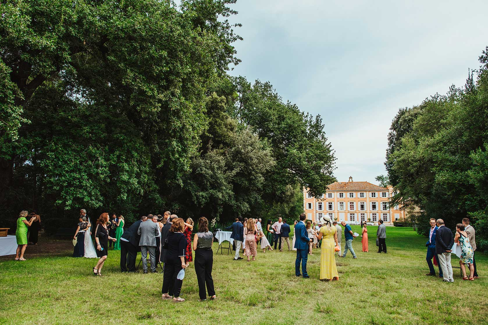 Wedding Photographer at Chateau de Roquelune