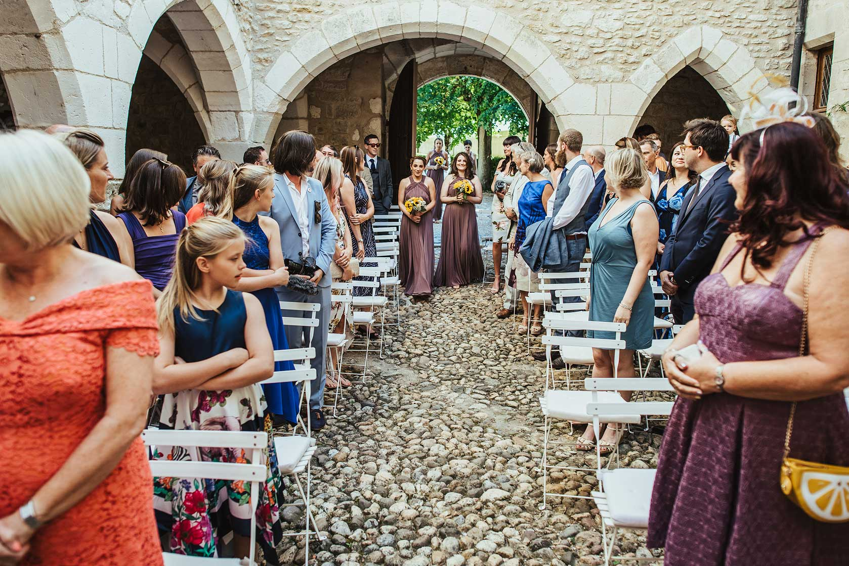 Château de Brametourte Wedding Photographer
