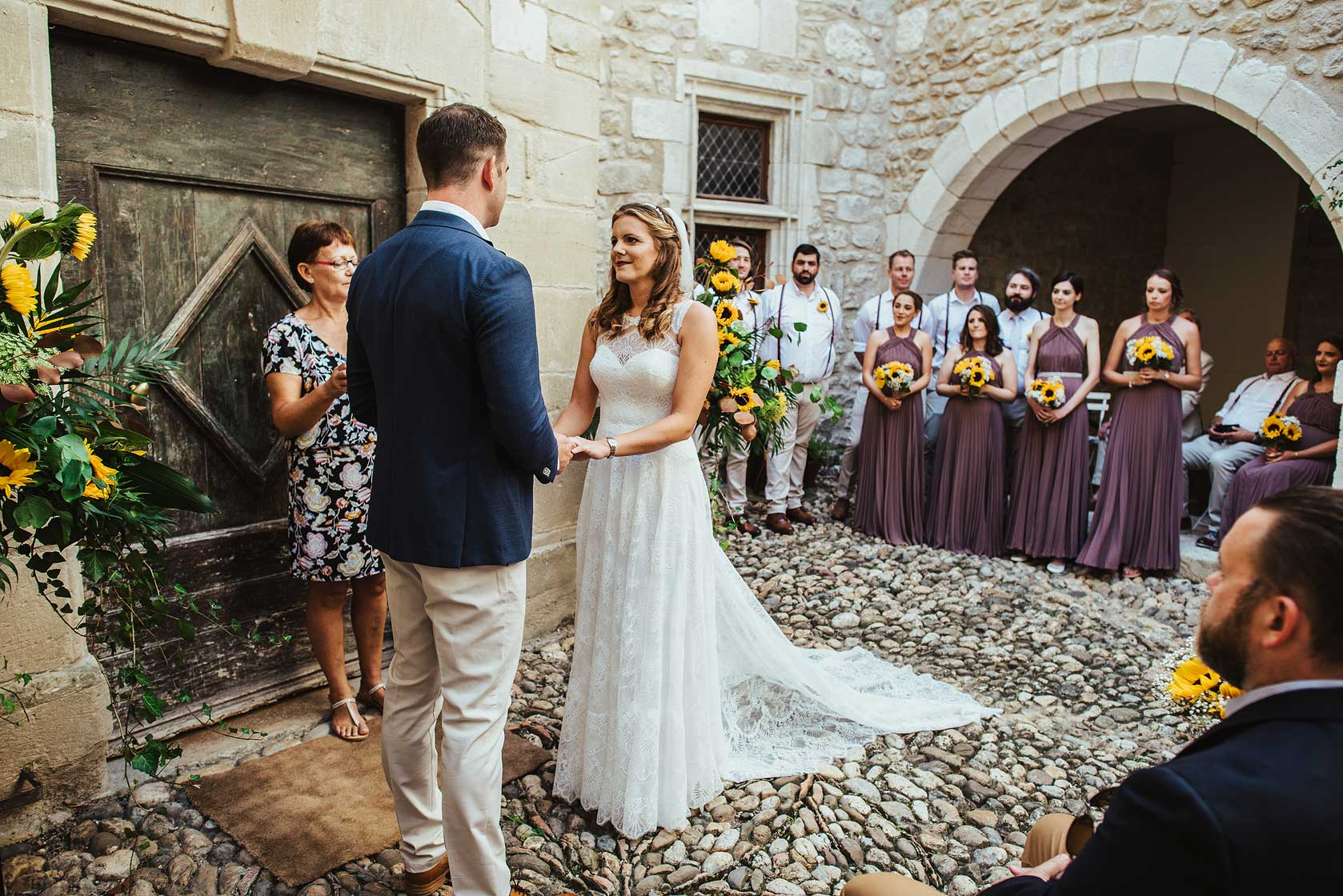 Château de Brametourte Wedding Photography
