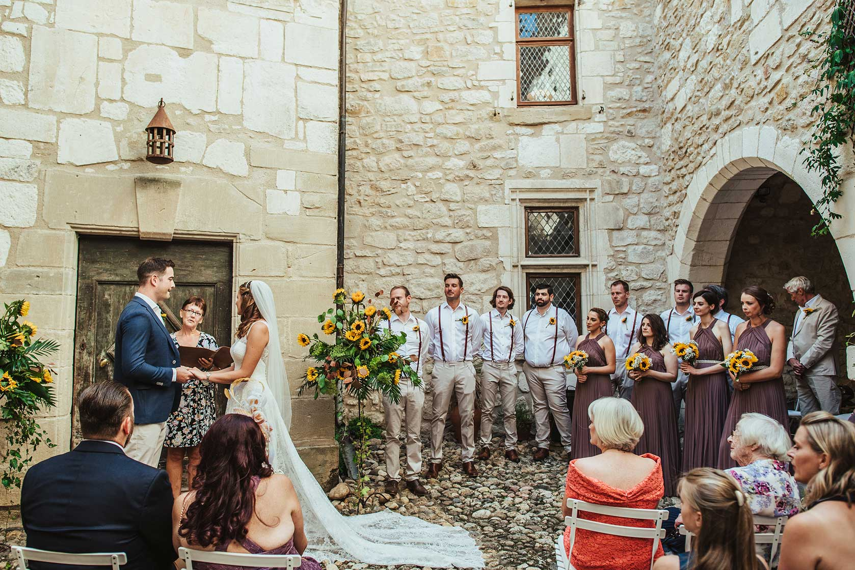 Wedding Photographer at Château de Brametourte