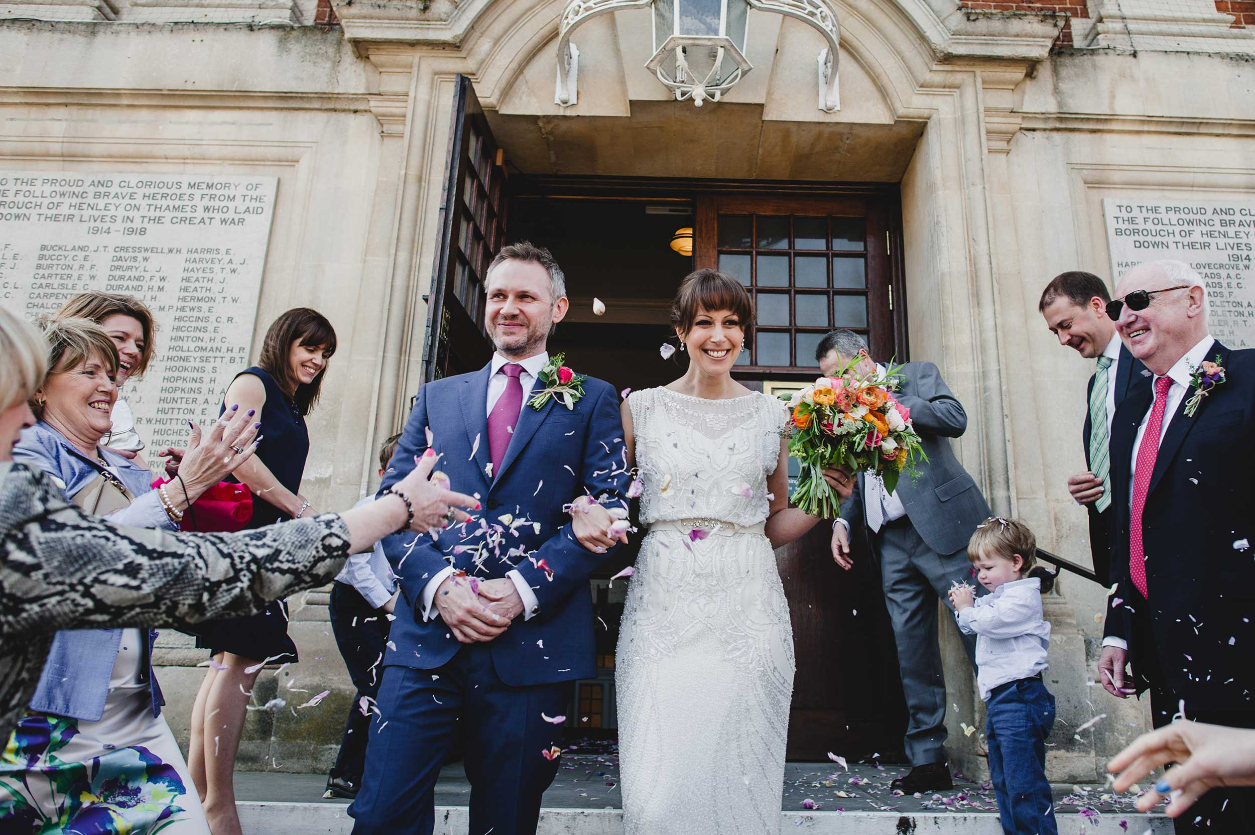 Henley Town Hall Wedding Photography